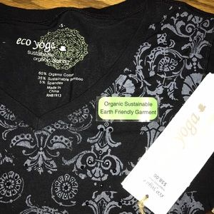 e26c91217a8c9 Eco Yoga Tops | New Sustainable Organic Clothing Top | Poshmark